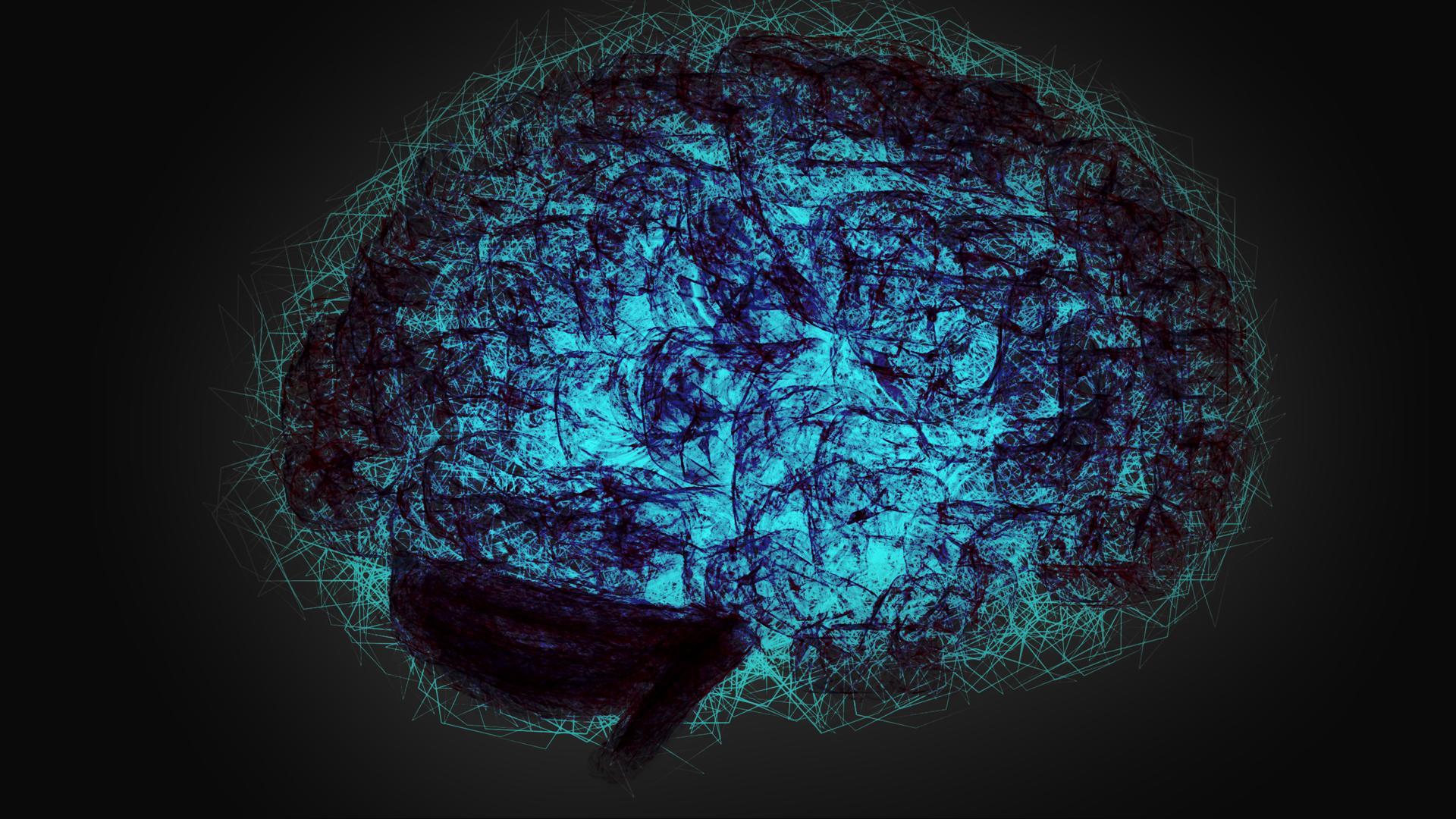 brain illustration typography wallpaper - photo #37